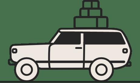 Icône de voiture.