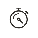 A stopwatch icon