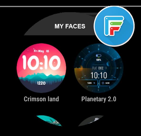 Facer app logo