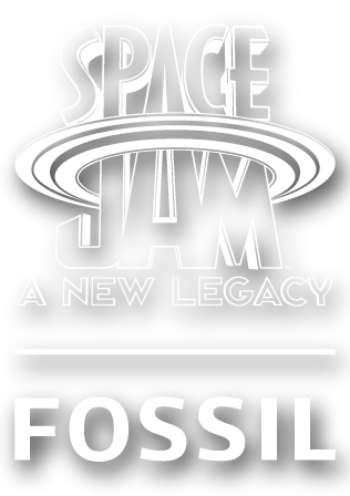 Space Jam by Fossil Logo.