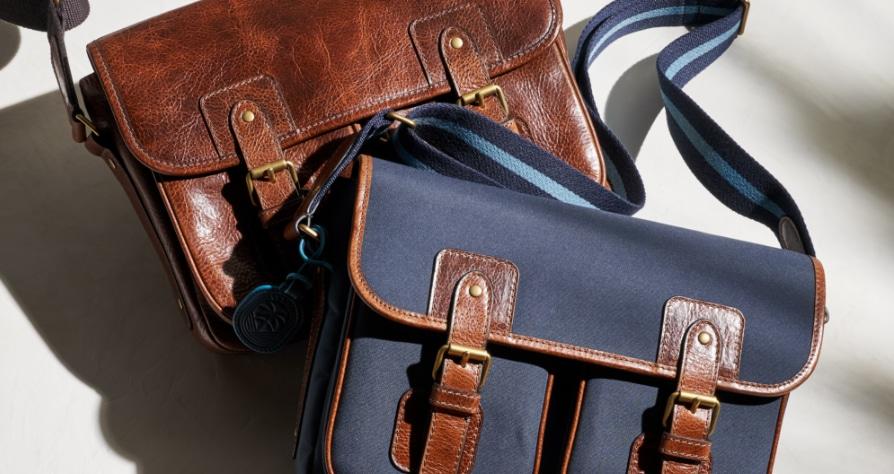 Trois sacs messager pour hommes Greenville.