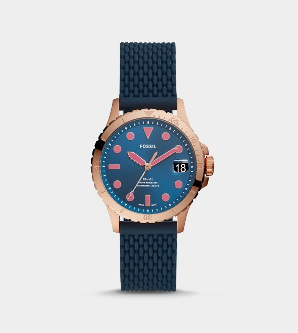 Women's dive-inspired watch collection.