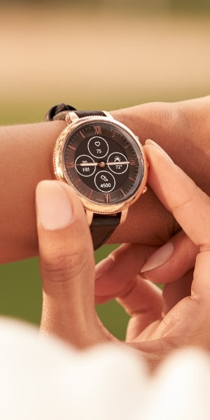 The Hybrid HR Smartwatch.