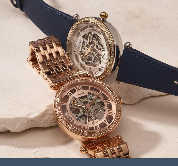 レトロさが今っぽい、自動巻き腕時計コレクション