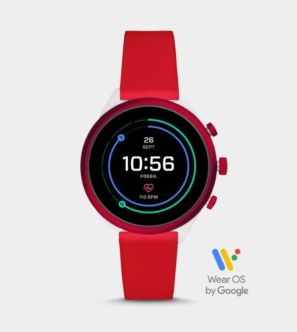 Sport smartwatch collection in new colors.