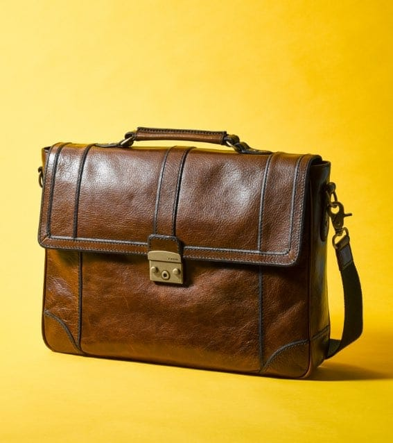 Lineage messenger in leather.
