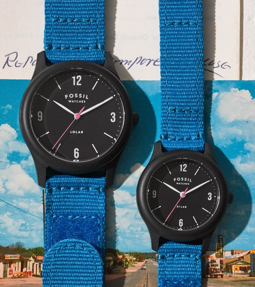 Two Limited Edition Solar Watches.