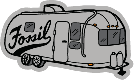 A graphic of a vintage Fosil trailer.