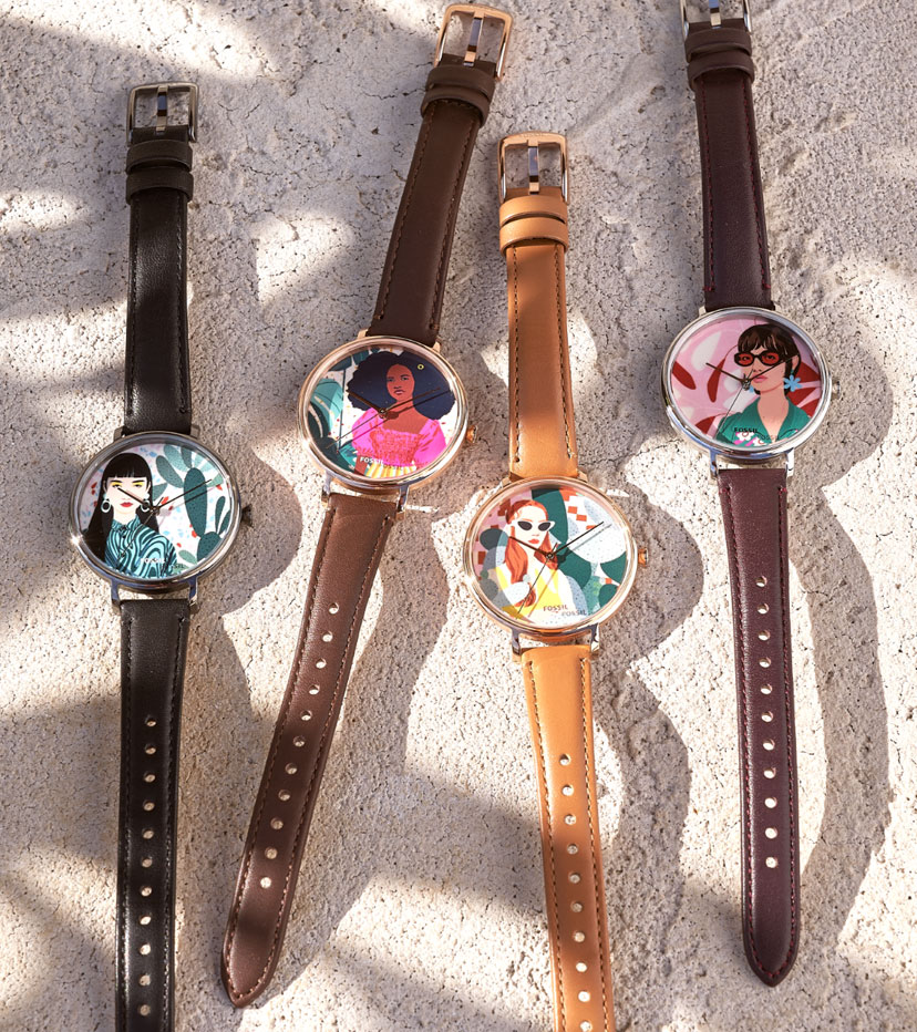 Bijou Karman x Fossil Collection.