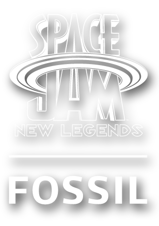 Logo Space Jam by Fossil.