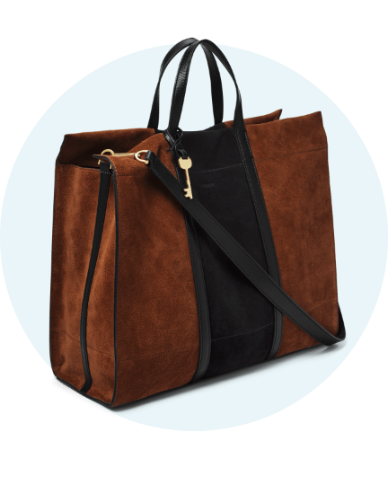 Women's leather bag.