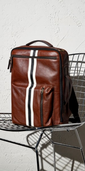 Buckner convertible backpack.