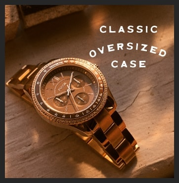 Best of the best Stella. A gold-tone Stella watch with Classic Oversized Case setup.