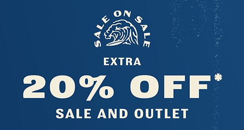 EXTRA 20% OFF* SALE AND OUTLET