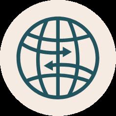 World graphic.