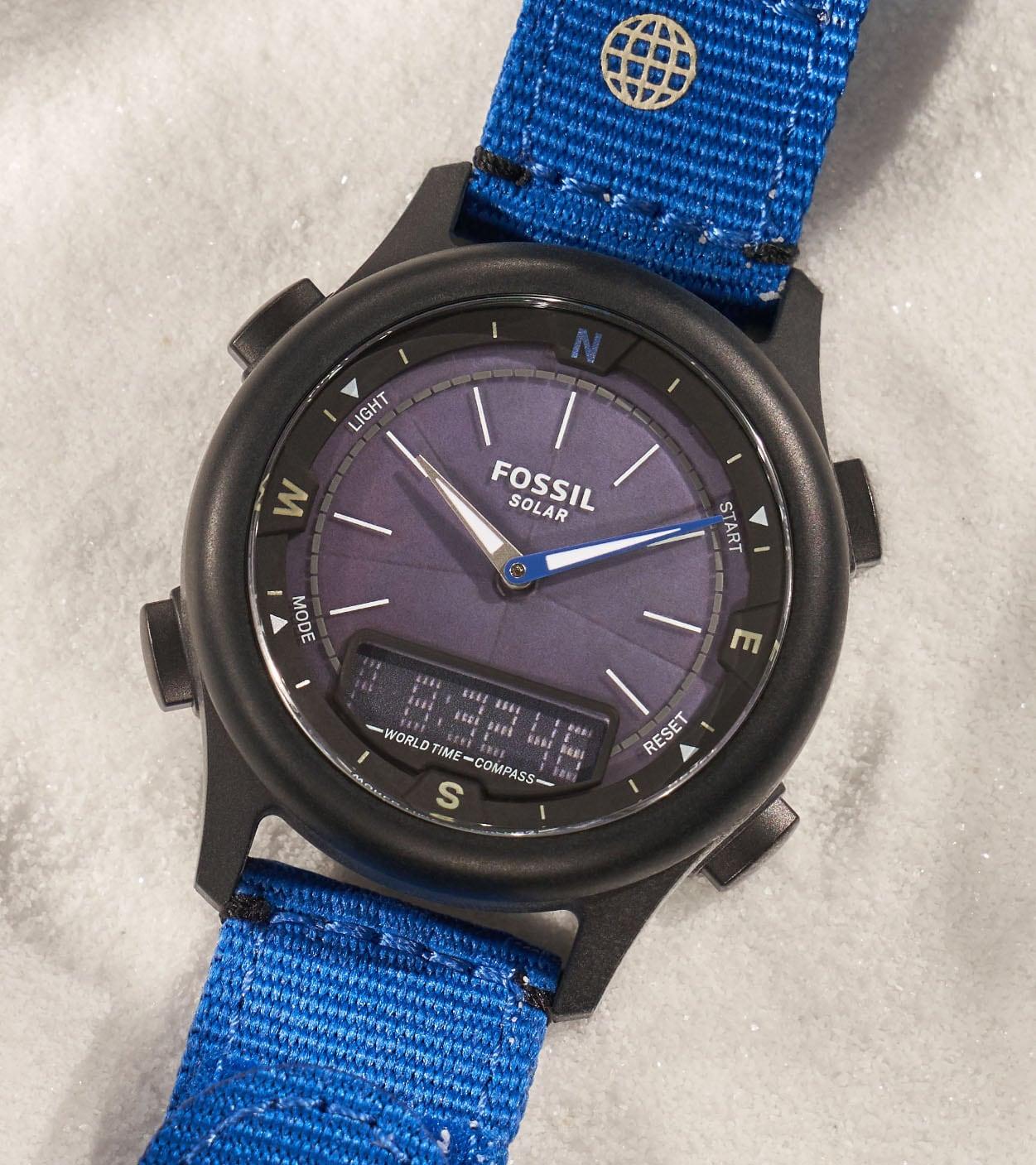 Solar Watch World-Timer