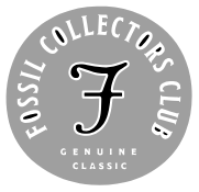 Fossil Collectors Club logo