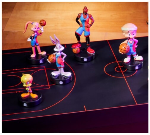 Space Jam figurines.