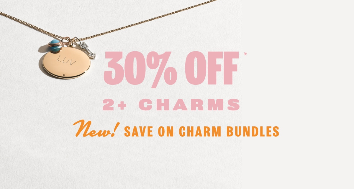 New! Save On Charm Bundles
